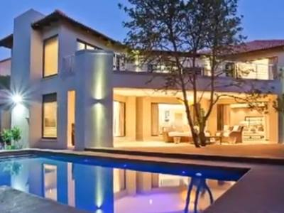 Expensive house in Sandhurst, Johannesburg